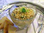 Салат из печени трески (классический рецепт). Пошаговый фоторецепт.