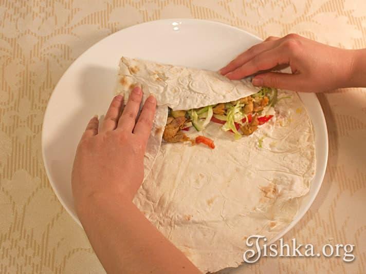 Начинка для шаурмы рецепт с фото пошагово. Как сделать