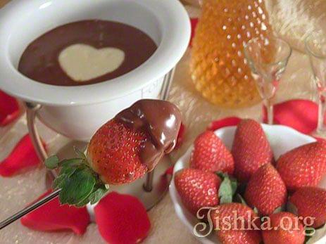 фондю рецепт с шоколадом