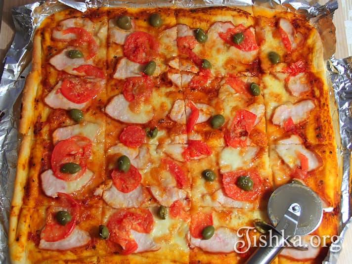 Очень простой рецепт пиццы с фото! » Татьяна Бедарева 82