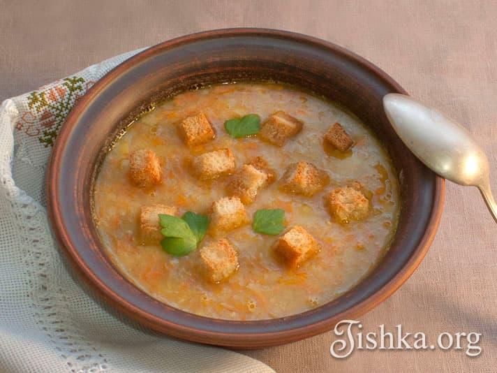 суп постный гороховый рецепт с фото