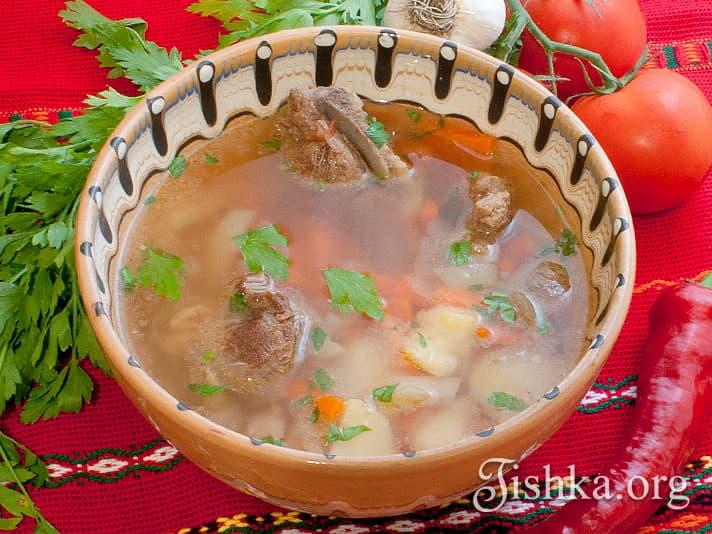 классический рецепт шурпы с фото пошагово
