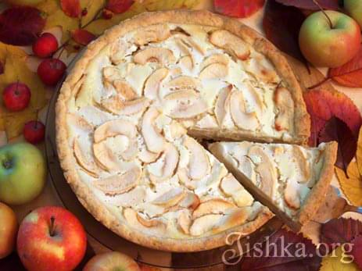 Рецепт яблочного пирога пошаговое фото