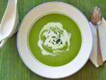 Суп-пюре из зеленого горошка. Пошаговый фоторецепт.