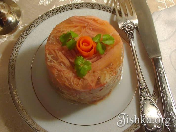 рецепт с фото холодец из курицы и свинины