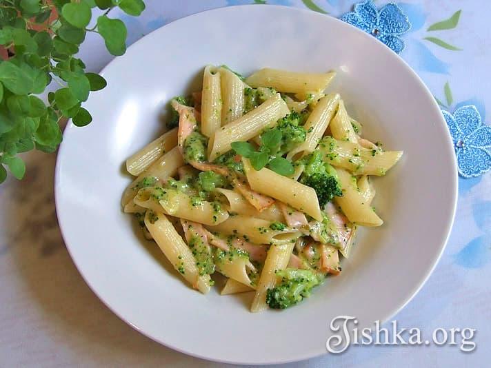 Паста с брокколи и сыром - пошаговый рецепт с фото на Повар.ру