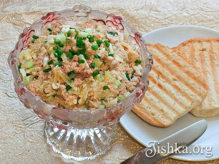 рецепты печень трески с фото