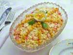 Салат с крабовыми палочками и болгарским перцем. Пошаговый фоторецепт.
