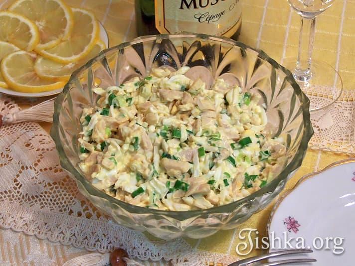 Салат из кальмаров пошаговый рецепт 56